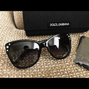 4ca55072e63f Dolce   Gabbana Accessories - Authentic Dolce   Gabbana Black Star  Sunglasses